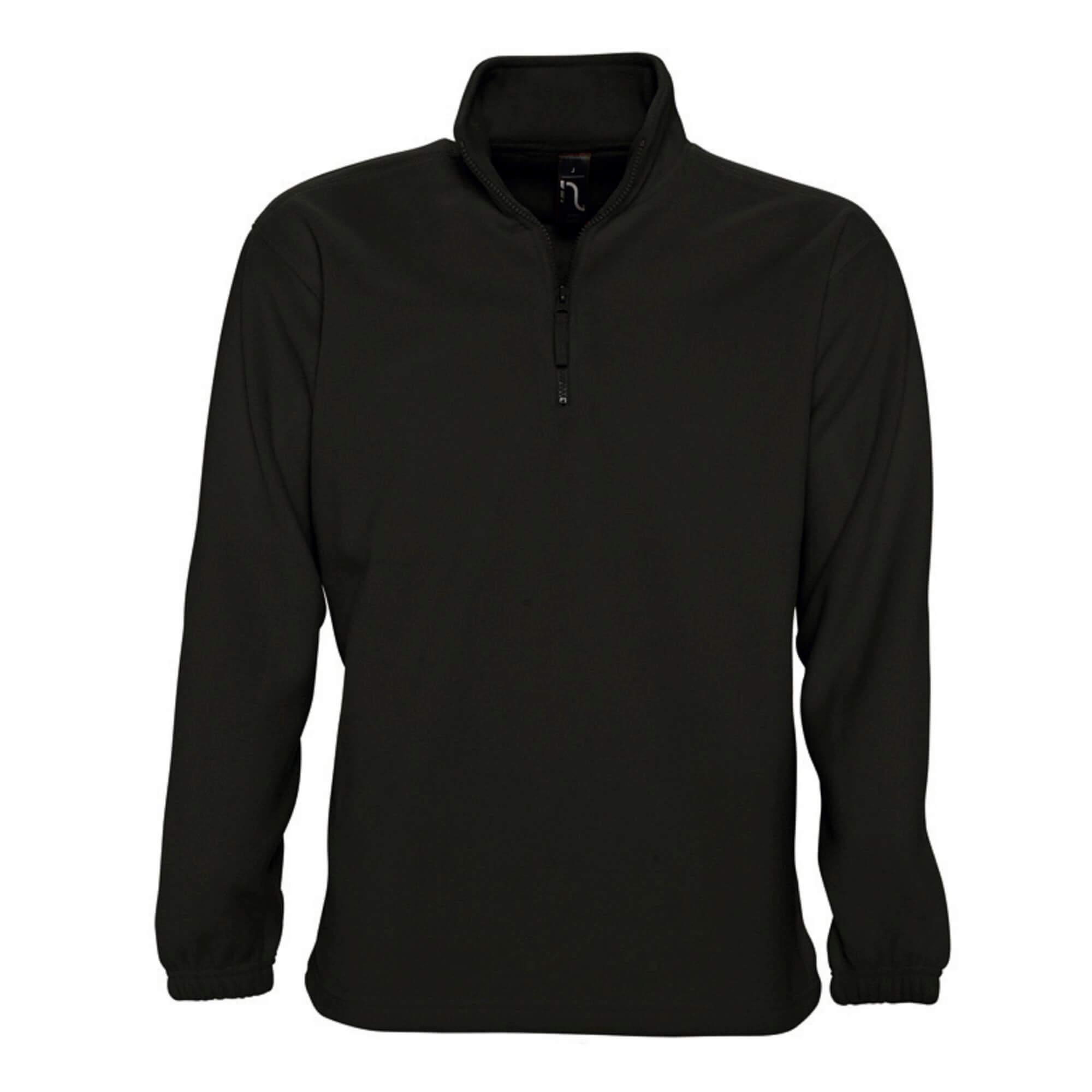 Флисовая куртка мужская черная - VT STYLE