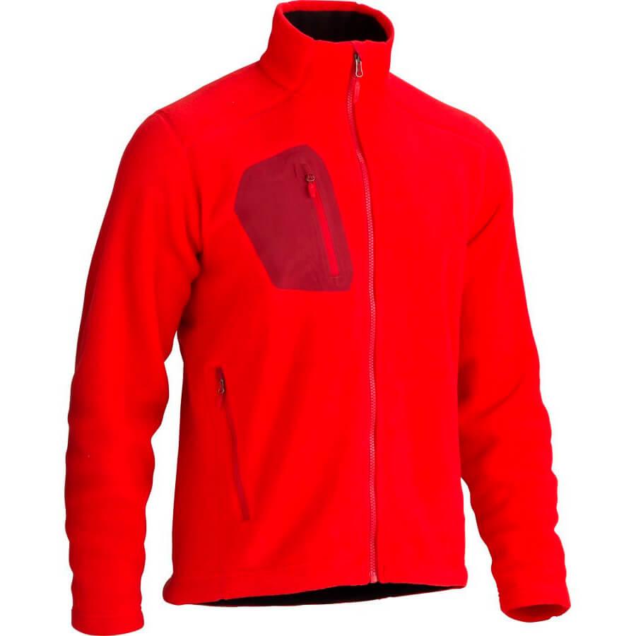 Куртка рабочая из флиса красная - VT STYLE
